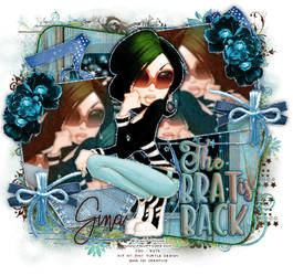 The Brat Is Back Tag Graphic Design