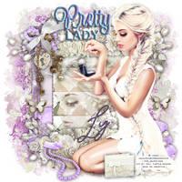 Pretty Lady Graphic Design For A Friend