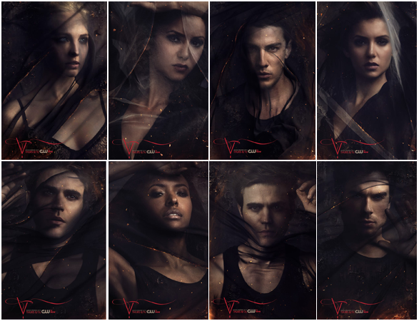 The Vampire Diaries Season 5 Character Promos By Crissie2389