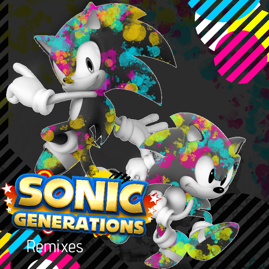 Sonic Generations Wallpaper by Gaming-Master