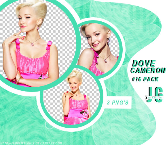 PNG PACK #16-Dove Cameron by jadelittlemix