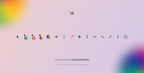 VS cursor (version 3)