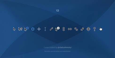 VS cursor (version 10.0)