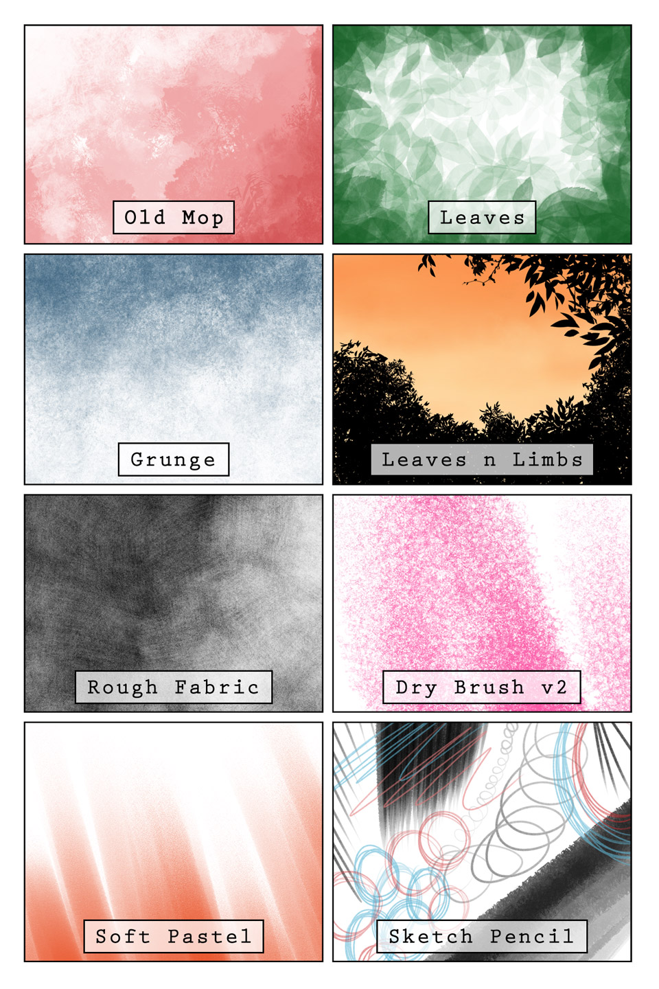 Happy Little Brushes: Part 2 - Manga Studio 5 by HaloGhost