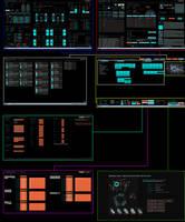 TC Oblivion Multi Display (1.2) (Rainmeter 4.x) by HordesPrime