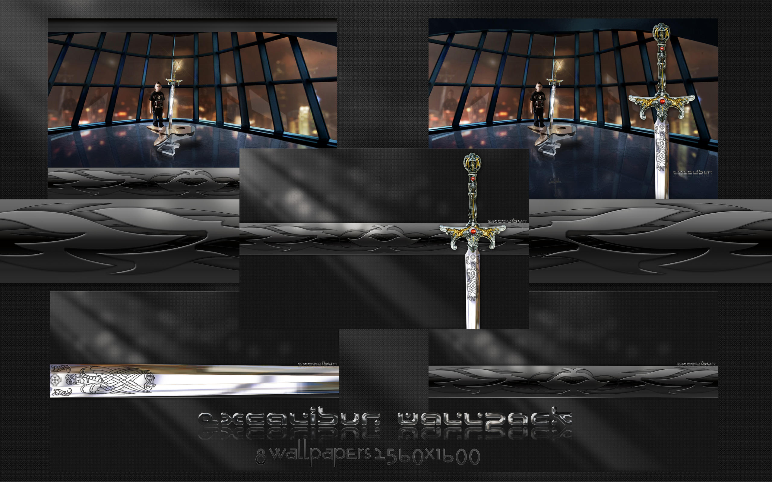 Excalibur Wallpack 1 by PoSmedley