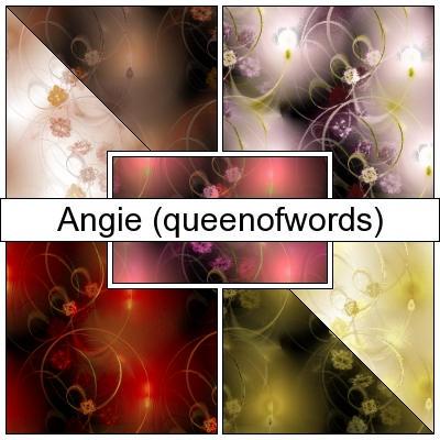 Fractal Floral Patterns by queenofwords