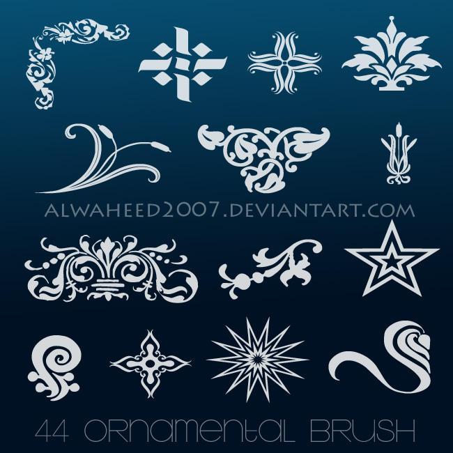 :: 44 Ornamental Brush :: by alwaheed2007