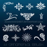 :: 44 Ornamental Brush ::