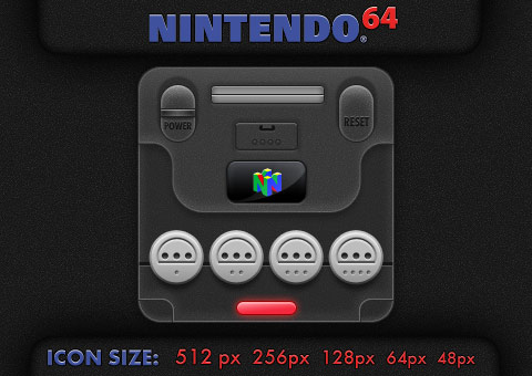Compact Nintendo 64 by Enigmator
