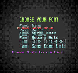 Fami Font Family: Variety NES-Style Fonts
