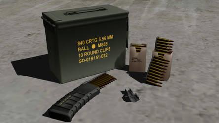 5.56 Ammo Supply Pack (HPBD J.E) by lehoangtuan62