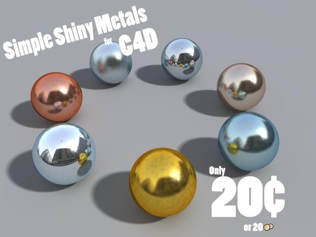 Shiny Metals by DCkiq