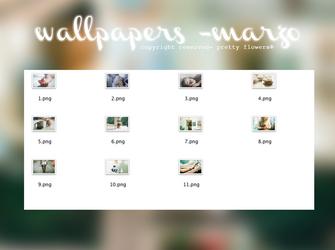 wallpapers - marzo. by LittlePrettyFlowers