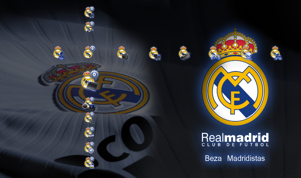 real madrid logo 3d. real madrid logo wallpaper