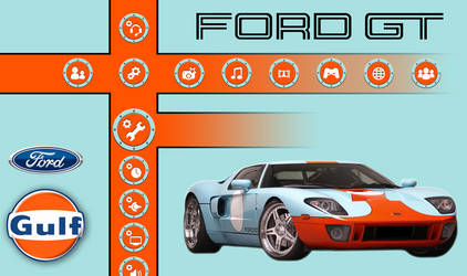 Ford GT-GT40 Gulf