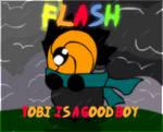 Flash: Tobi is a good boy