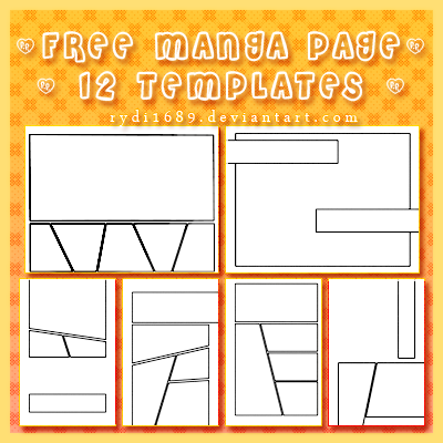 TEMPLATE - Page Layouts on Manga-Apps - DeviantArt