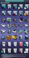 GlassMaxX Icon Pack