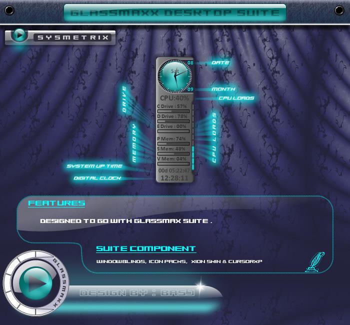 GlassMaxX Sysmetrix by basj
