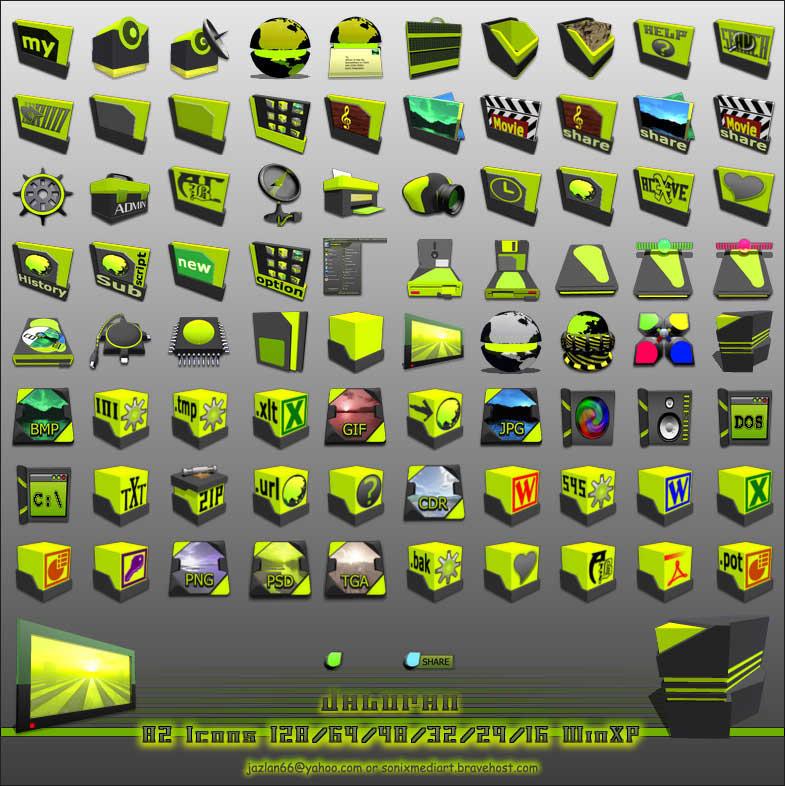 Jaluran Icon XP by basj
