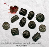Chocolates by 1purplepixie