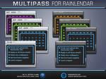Multipass Rainlendar