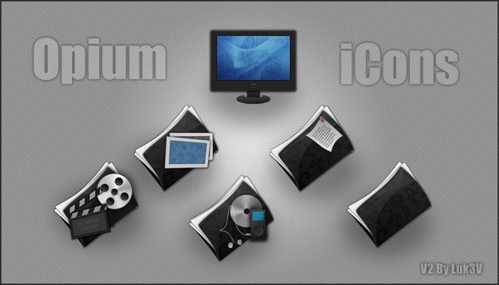 Opium iCons V2 by Luk3V