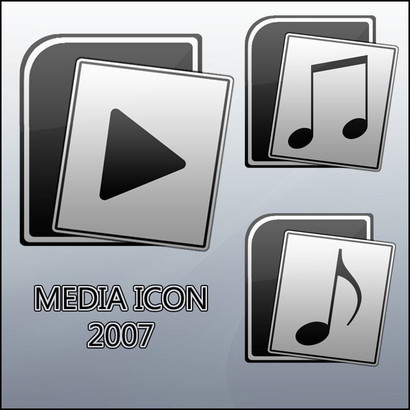 Media Icon 2007 by Luk3V