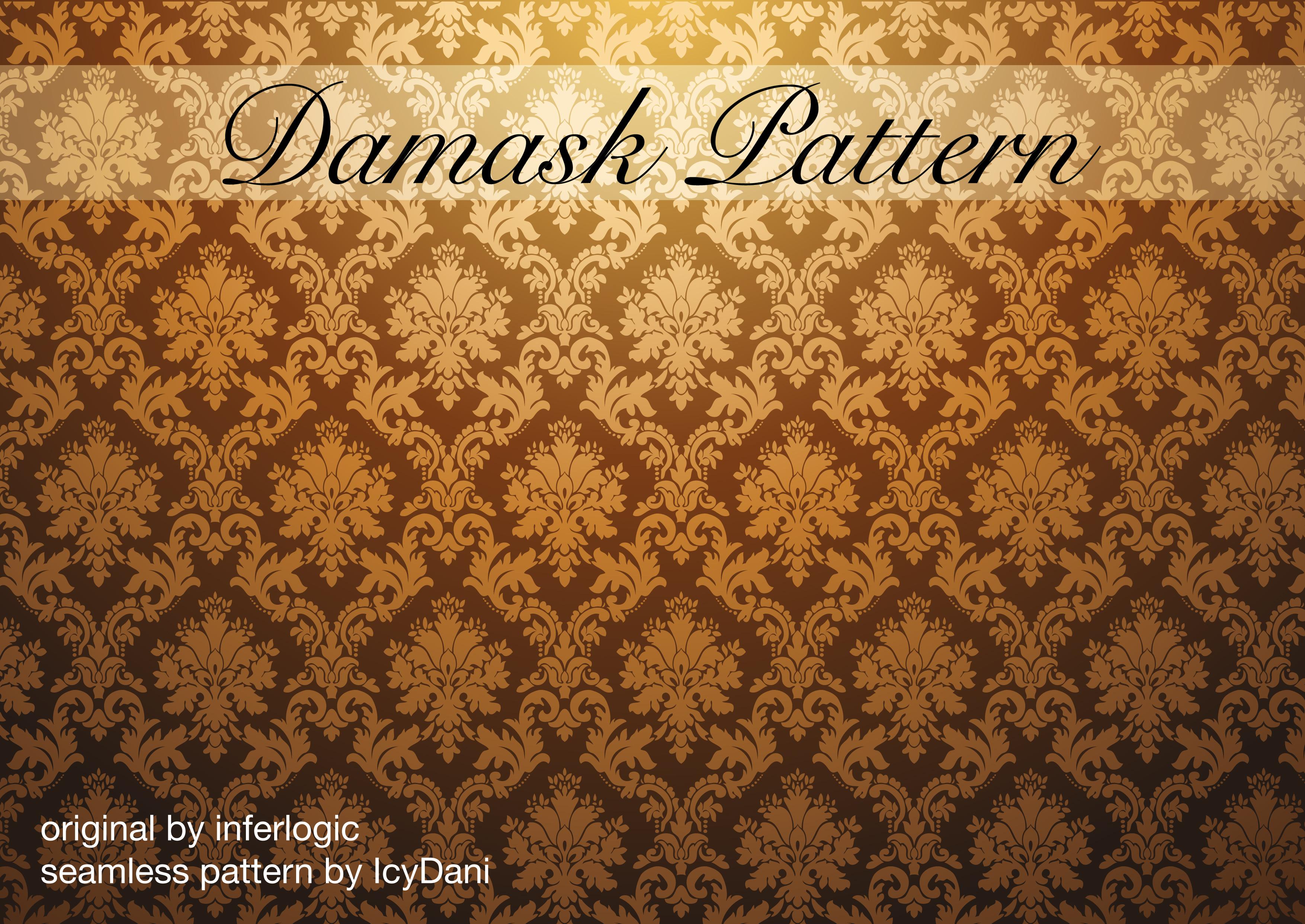 Damask Pattern Seamless