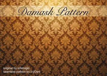 Damask Pattern Seamless by IcyDani