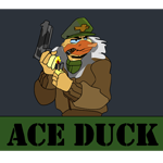 Ace Duck by Eric--Draven