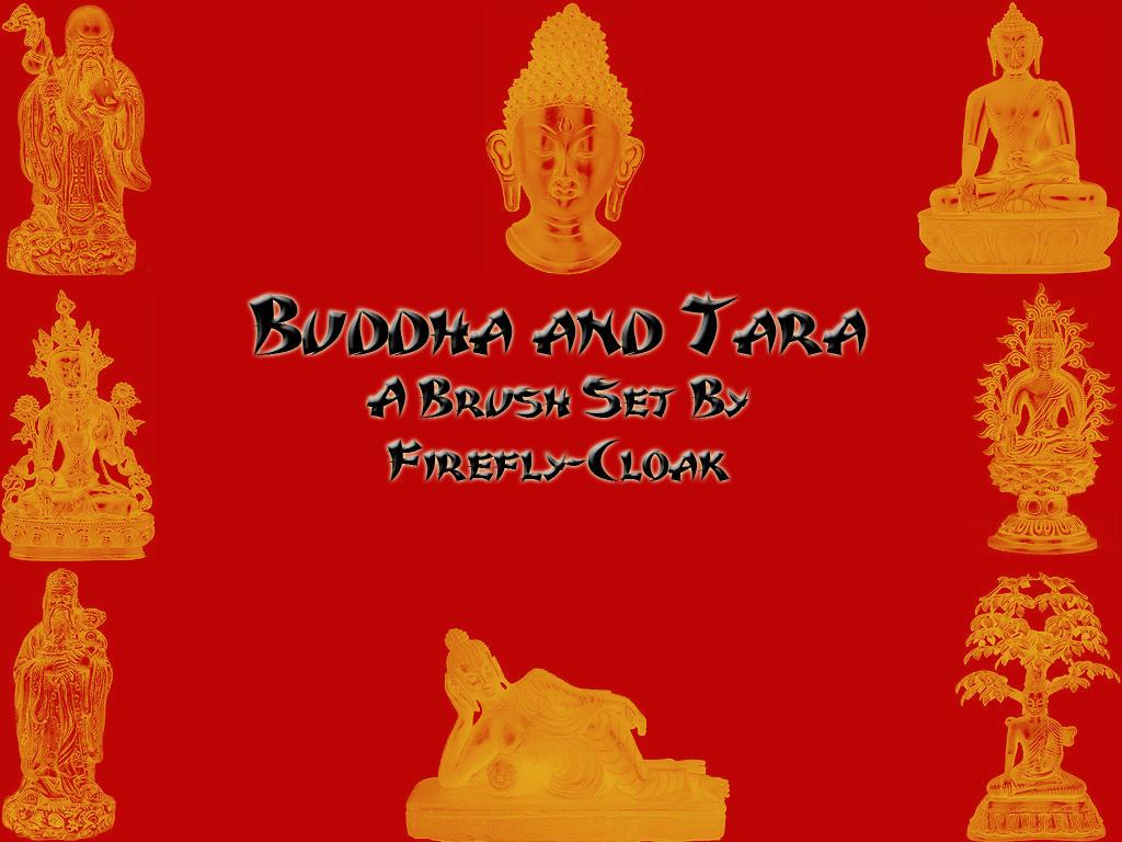 Buddha Brushes by firefly-cloak
