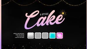 Cake | Styles #01