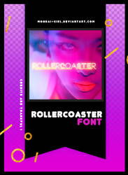 ROLLERCOASTER | FONT #12 by Mondai-Girl