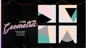 GEOMETRIC | PNG #6 by Mondai-Girl