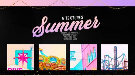 SUMMER | TEXTURES #02 by Mondai-Girl