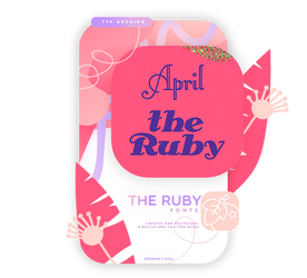 THE RUBY | FONTS #22