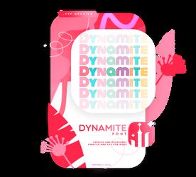 DYNAMITE| FONT