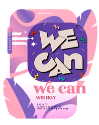 WE CAN | FONT