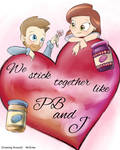 Growing Around: PB and J Valentine