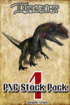 Dinosaur PNG Stock Pack 1