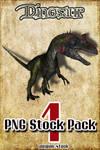 Dinosaur PNG Stock Pack 1