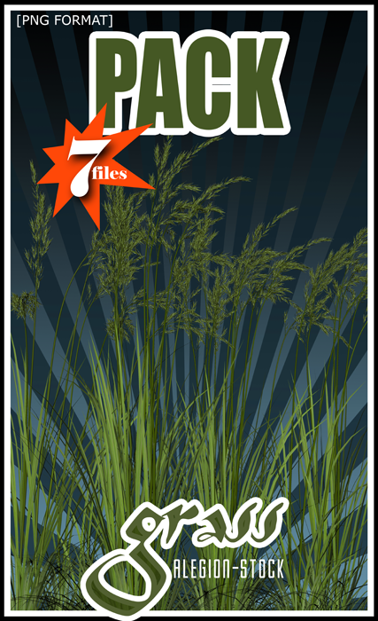 Grass PNG Stock Pack