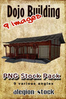 Dojo Building PNG Pack by Alegion-stock