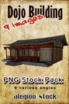 Dojo Building PNG Pack