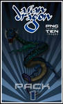 Asian Dragon PNG pack 1