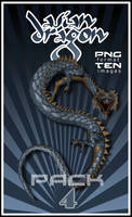 Asian Dragon PNG pack 4 by Alegion-stock