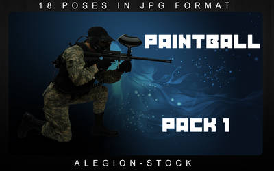 Paintball model pack 1 by Alegion-stock