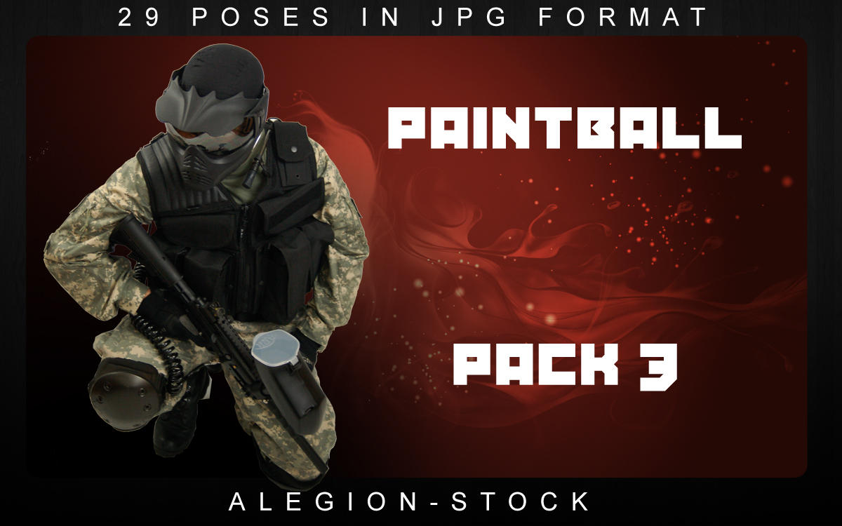 Paintball model pack 3 by Alegion-stock